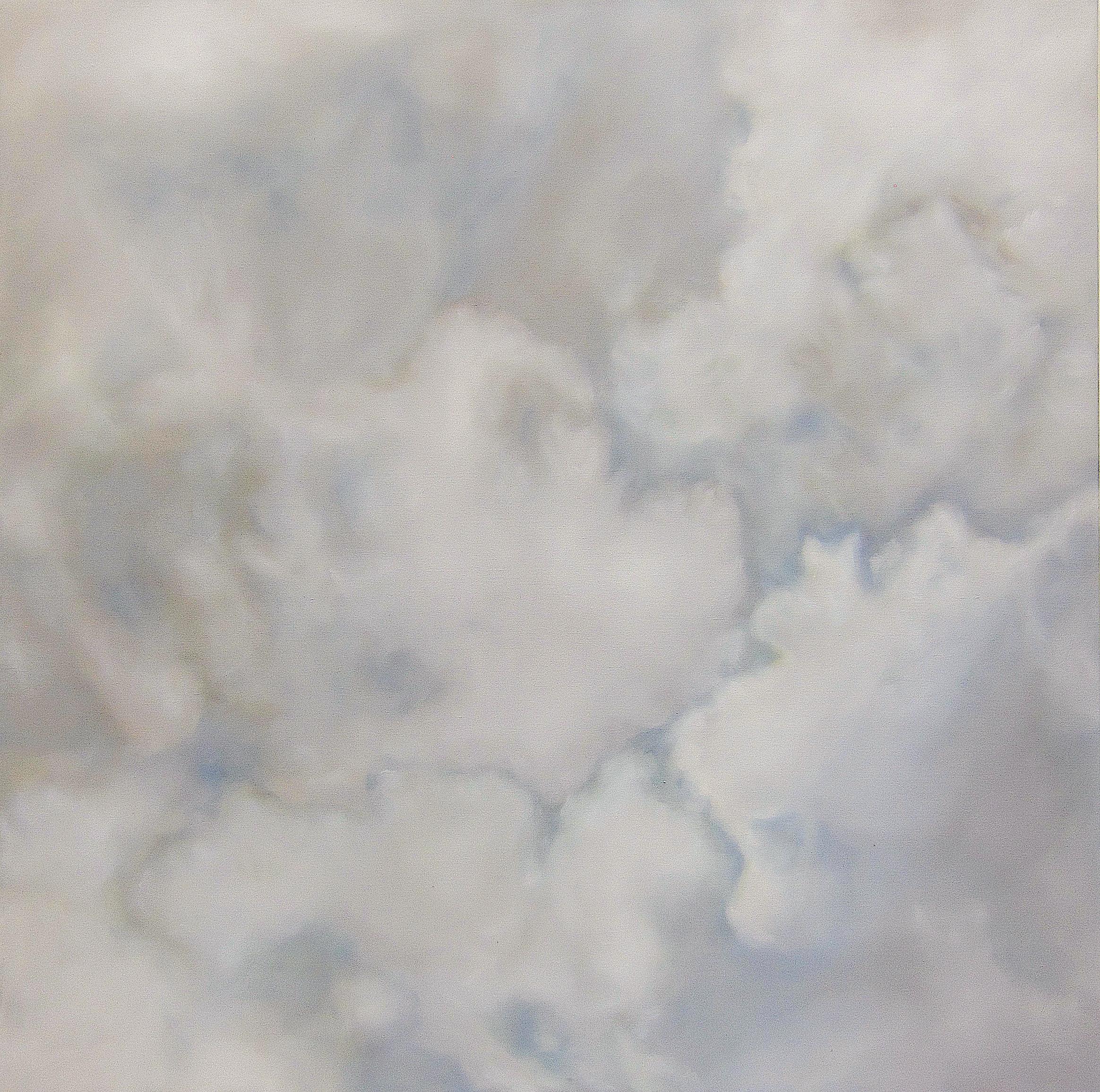 Ciel Sensible , 2017  oil on linen, 63 x 63 in, 160 x 160 cm