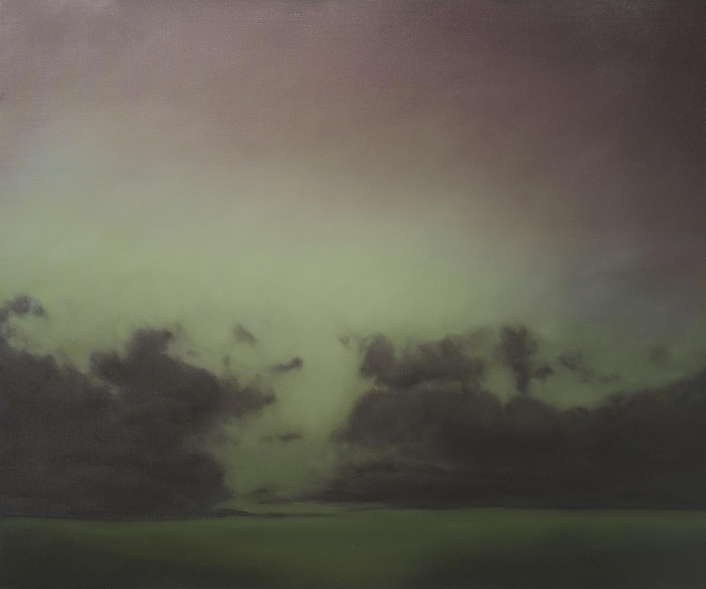 Annonciation, huile sur lin, 2017, 153 x 183 cm