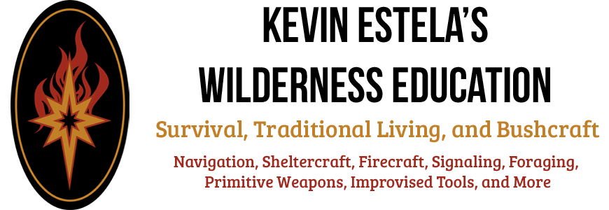 Anyone looking at learning survival skills on the US East coast then this is the place to go. I filmed a pilot for History channel with Kevin and he is the real deal as well as a great guy.  http://kevinestela.com/