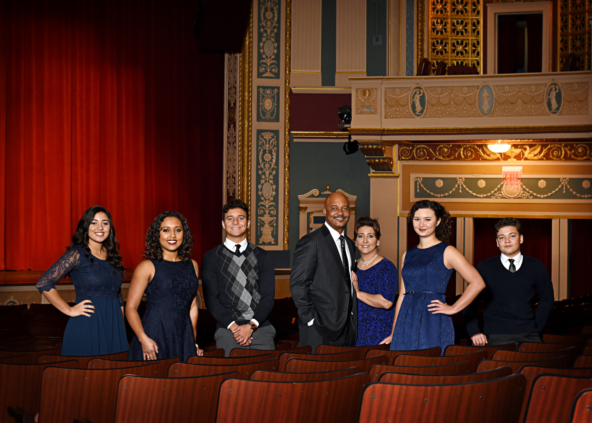 As a theater family, many Hill family members have performed at Lerner Theater productions in Elkhart, including Curtis.