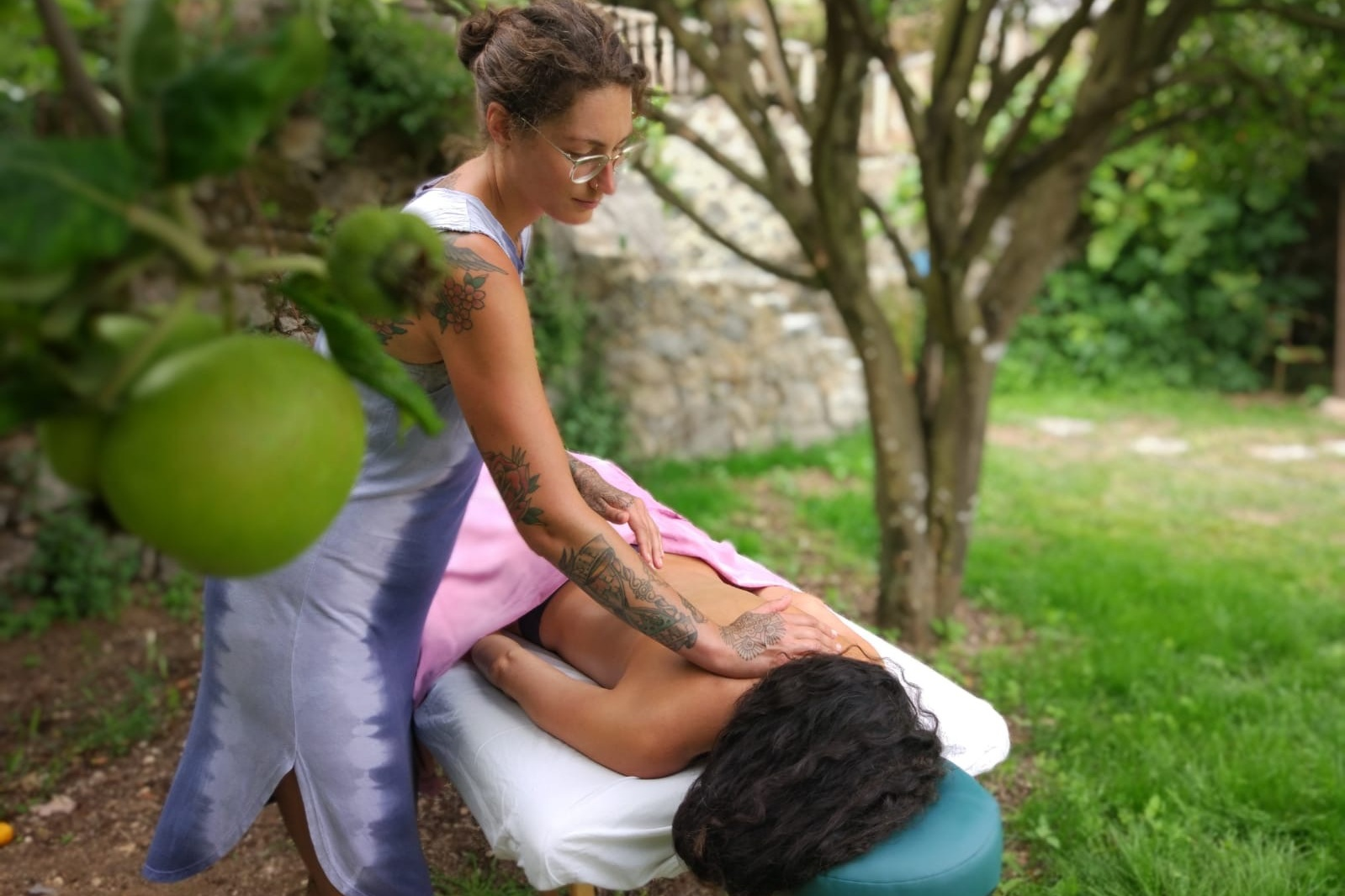 MASSAGE - Deep tissue relaxing massage, surrounded by nature. From 45€ per hourClick here for more