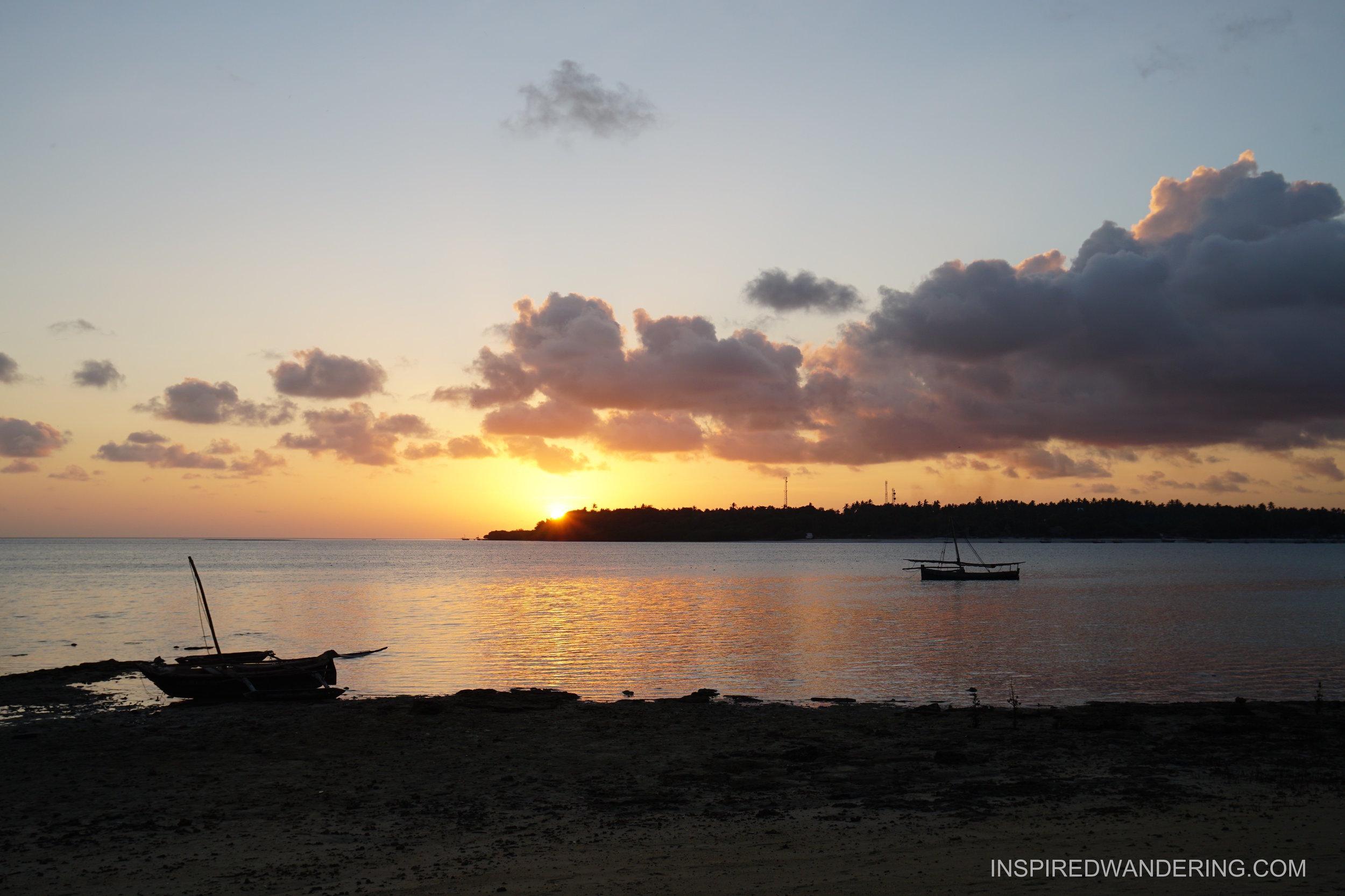 Sunset Chole Island Tanzania