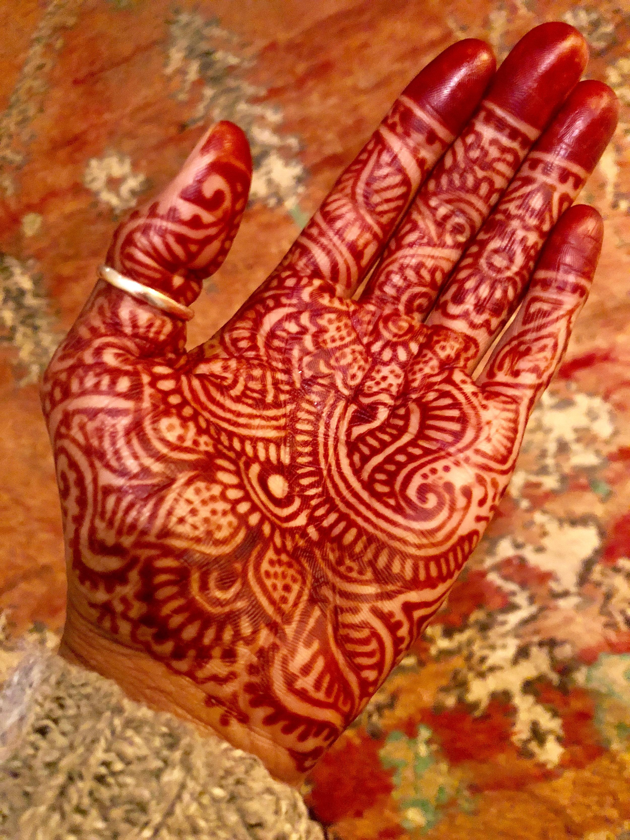Henna Art, Marrakech, Morocco