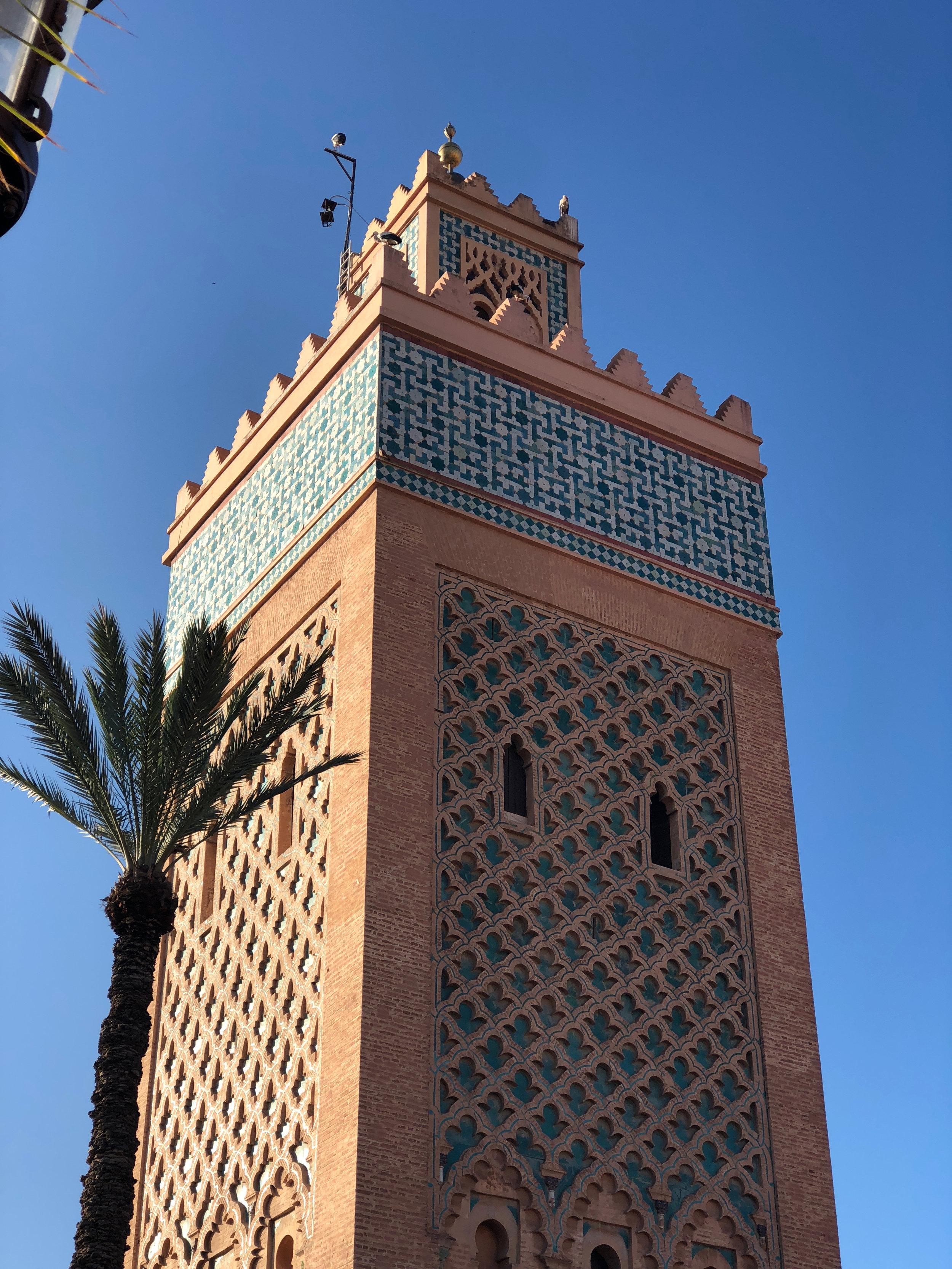 Kasbah Mosque Marrakech, Morocco