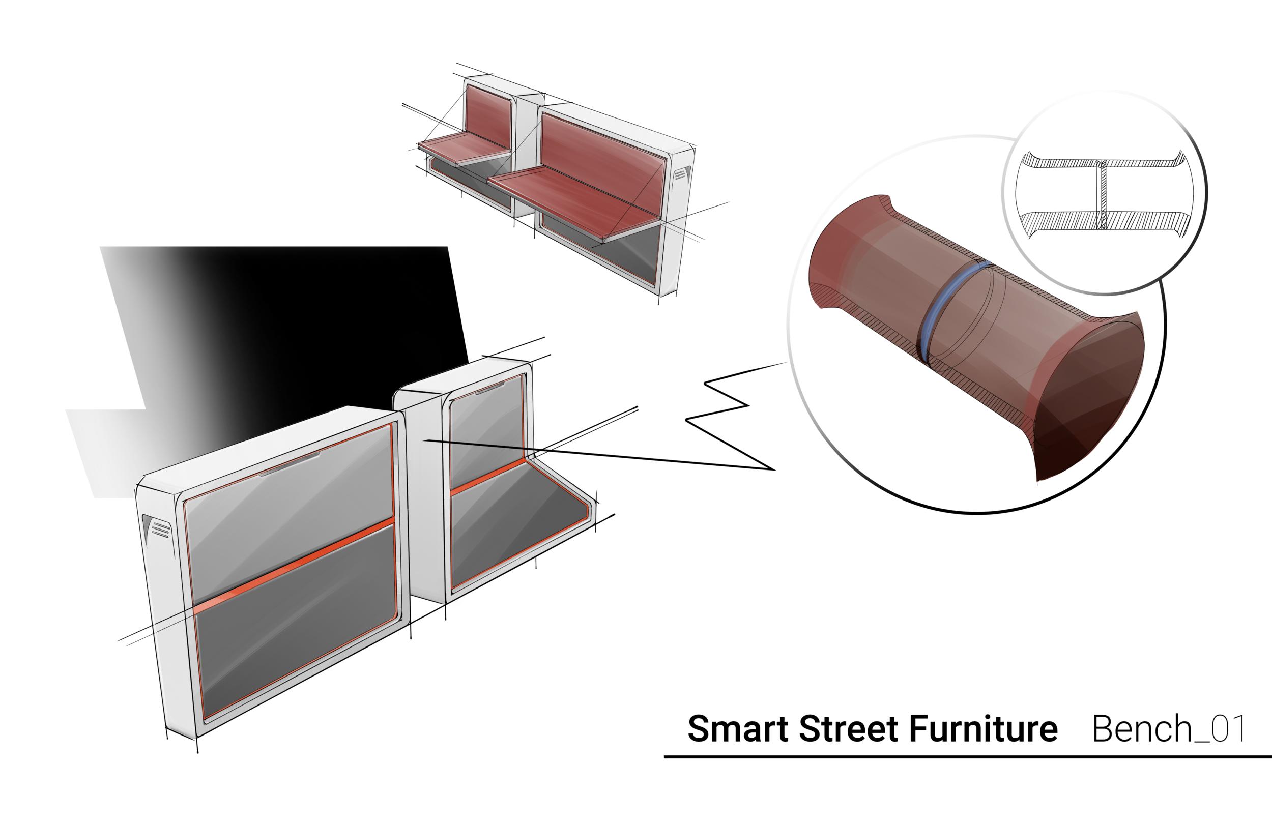 SSF Bench 01 Concept