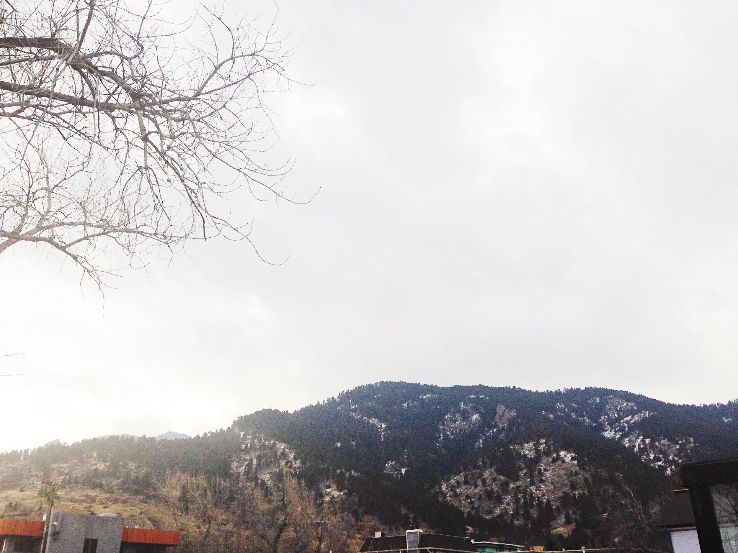 Boulder, Colorado. © E.A. Crunden