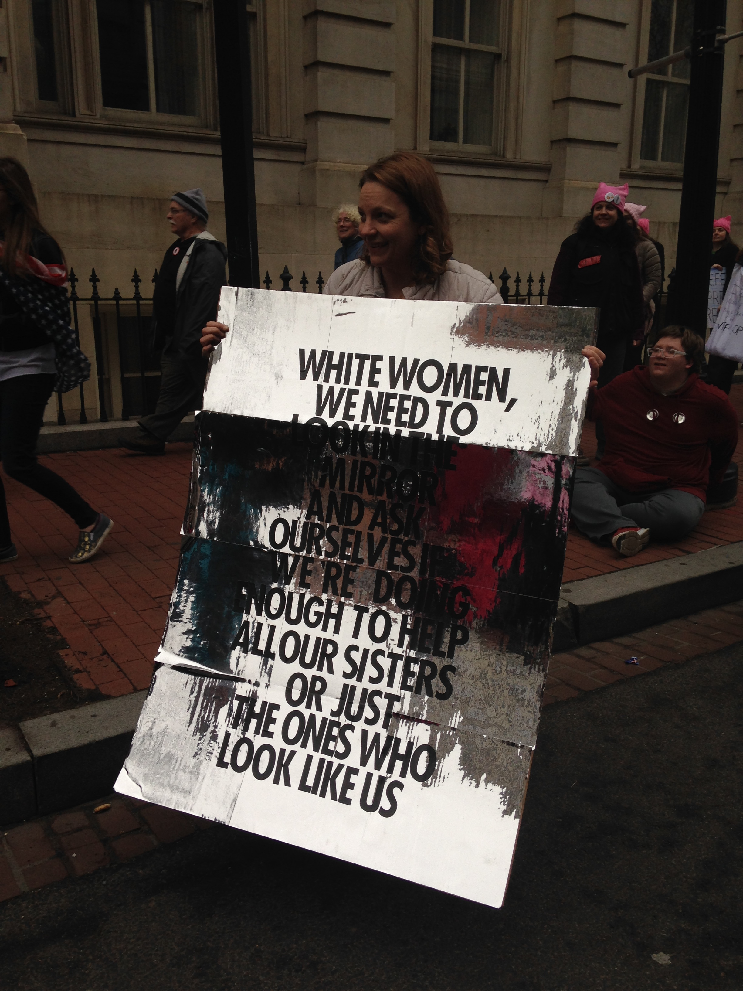 Women's March on Washington. © E.A. Crunden