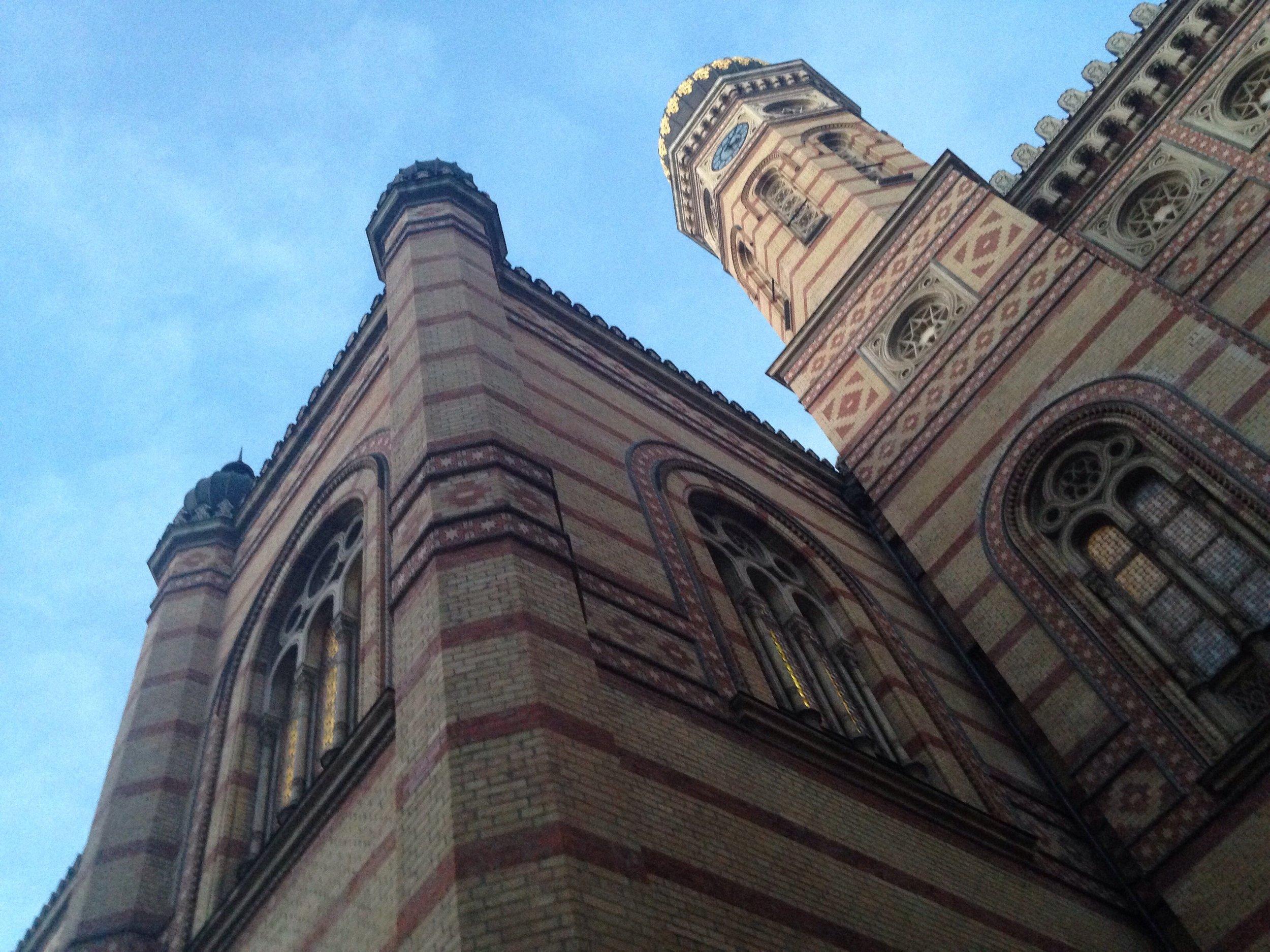 The Dohány Street Synagogue, Budapest, Hungary. © E.A. Crunden