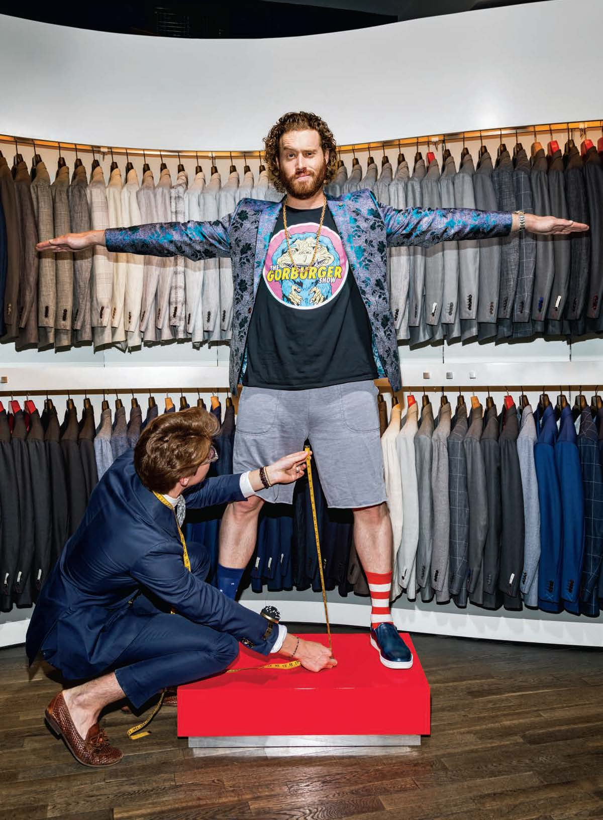 TJ Miller - Men's Health