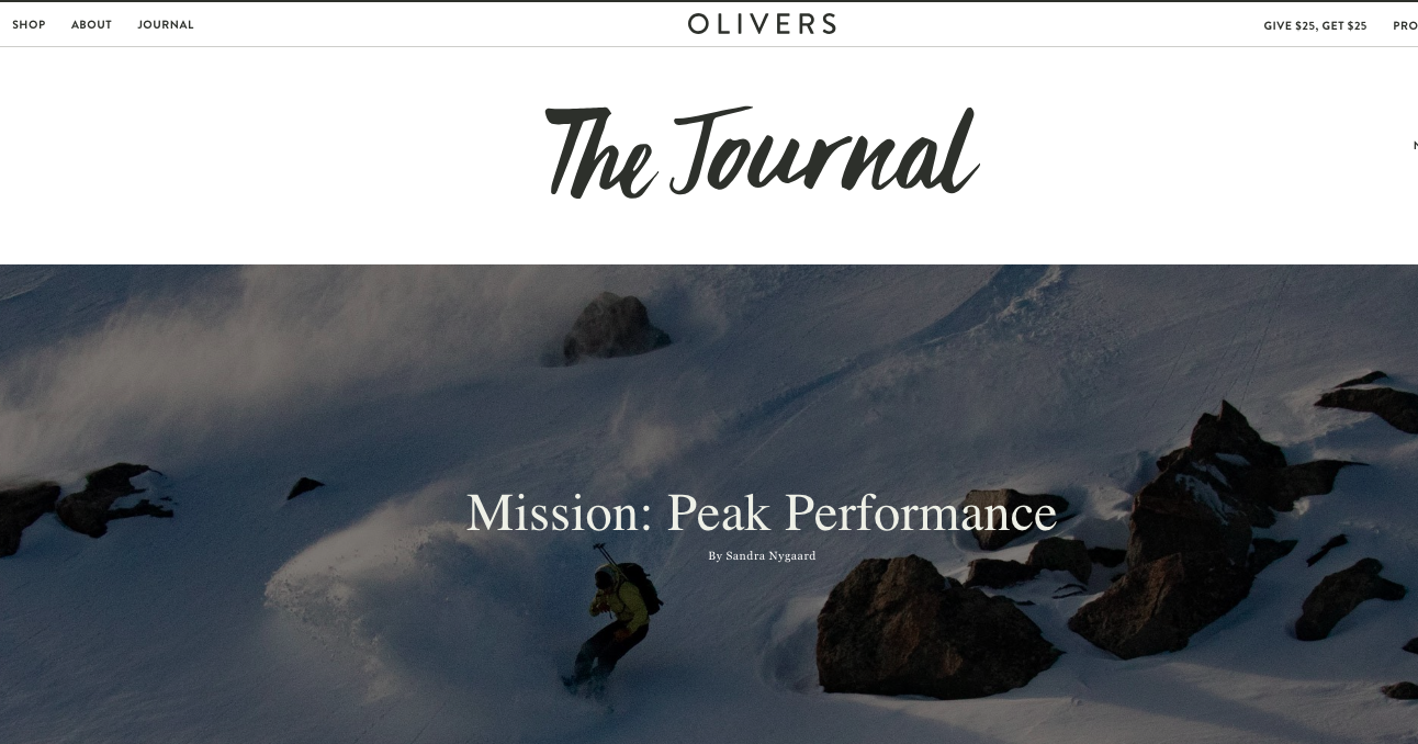 Olivers Journal February 2019