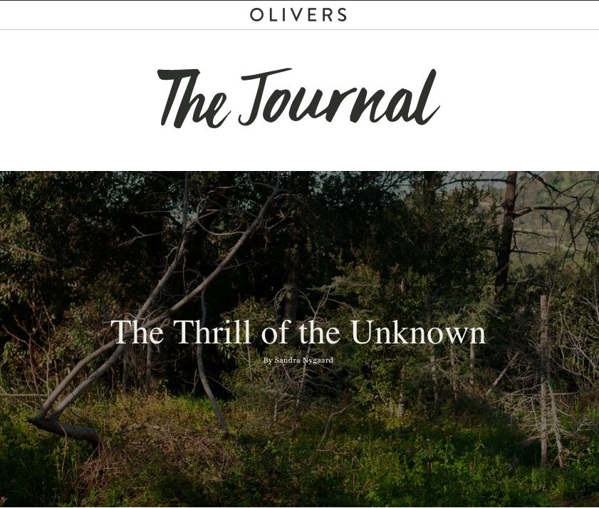 Olivers Journal April 2019