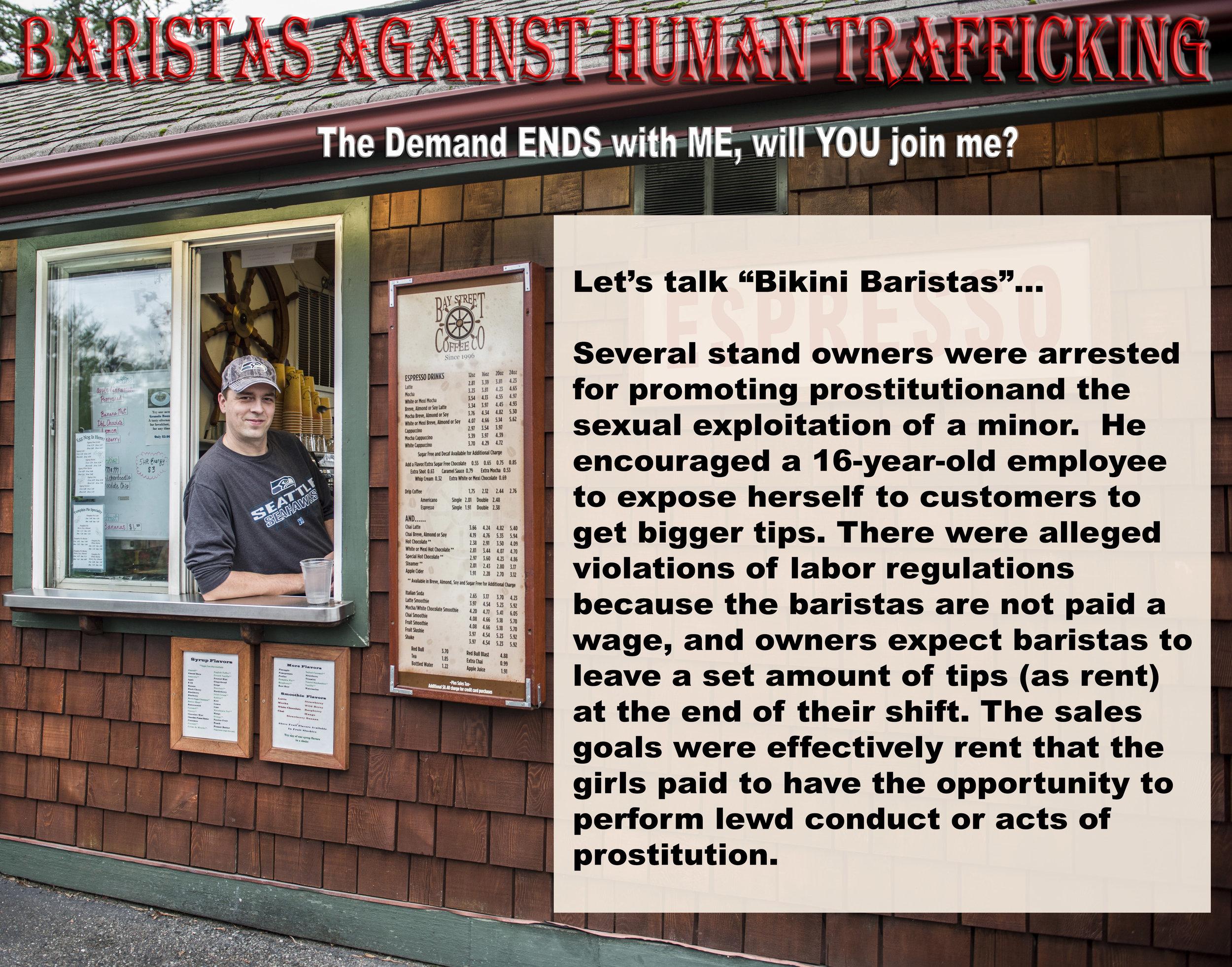 Baristas Against Human Trafficking