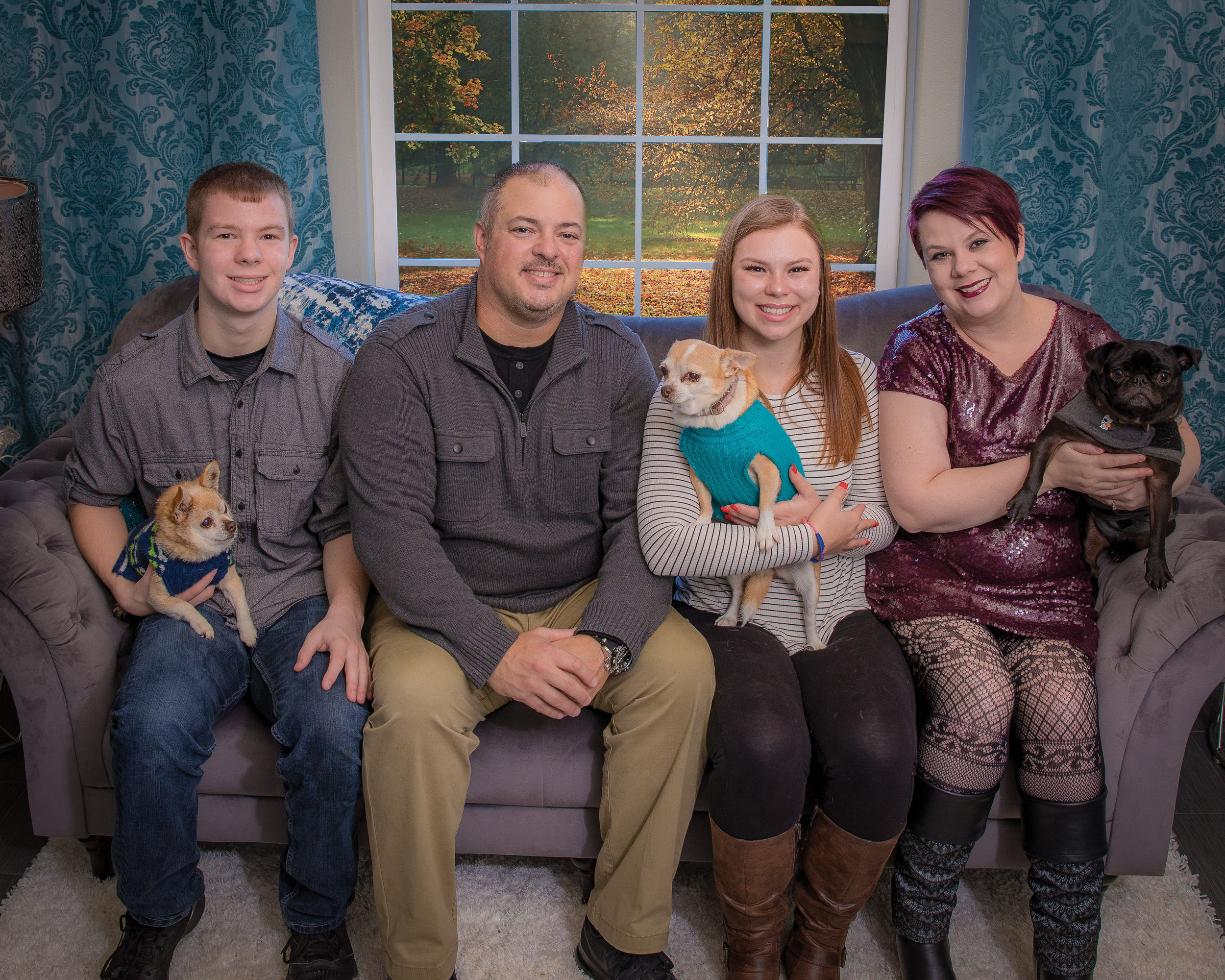 My Family - photo by Irene Beckham Photography