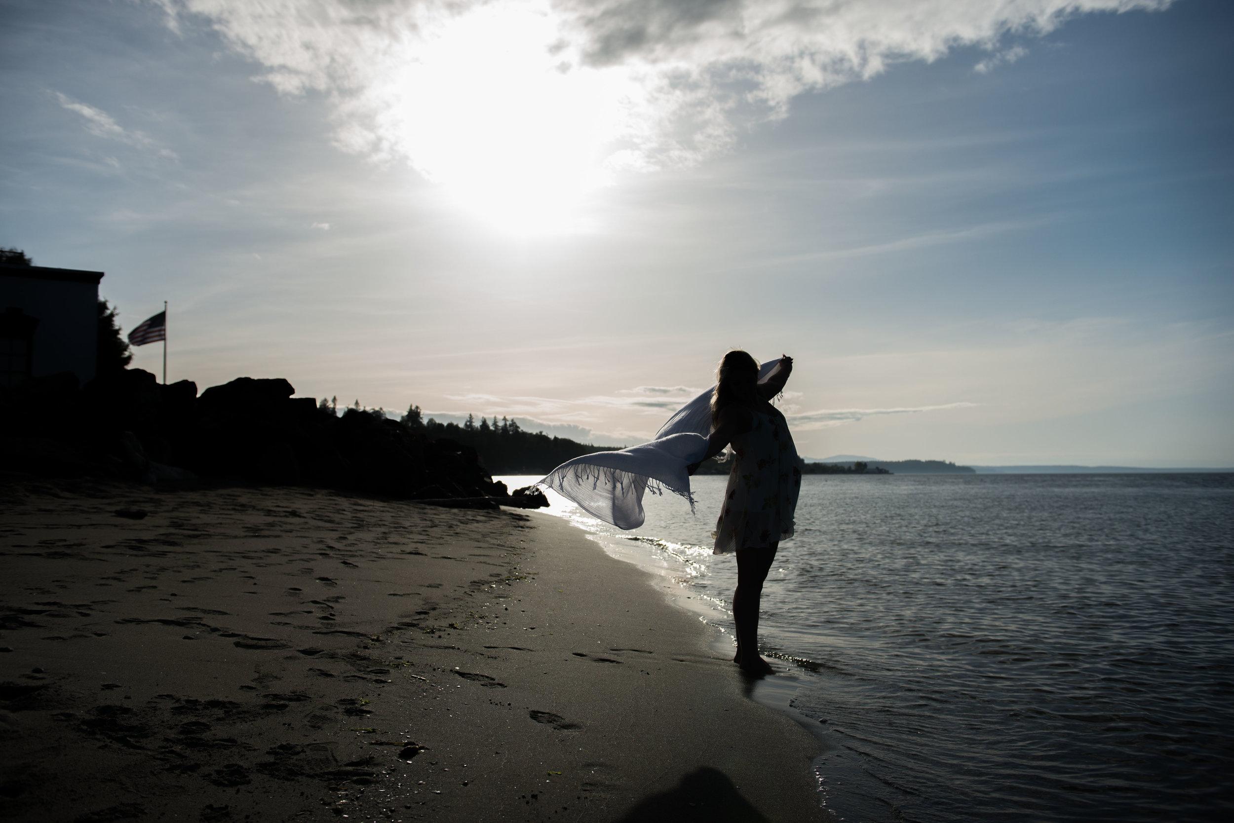 Boudoir on the Beach with Elaine Turso Photography