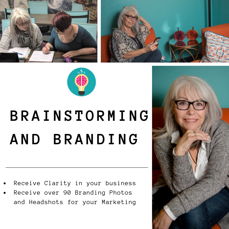 brainstorming and branding Elaine Turso