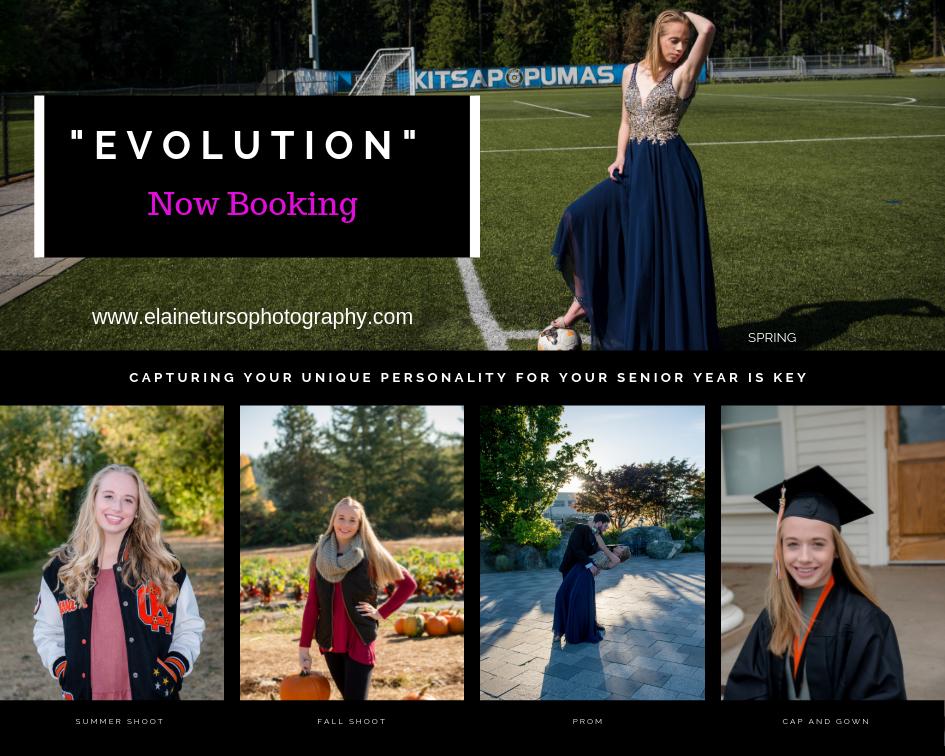 EVOLUTION of ALYSSA Central Kitsap High School Elaine Turso Photography