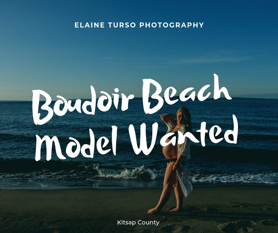 Boudoir Beach Model Wanted Elaine Turso Photography