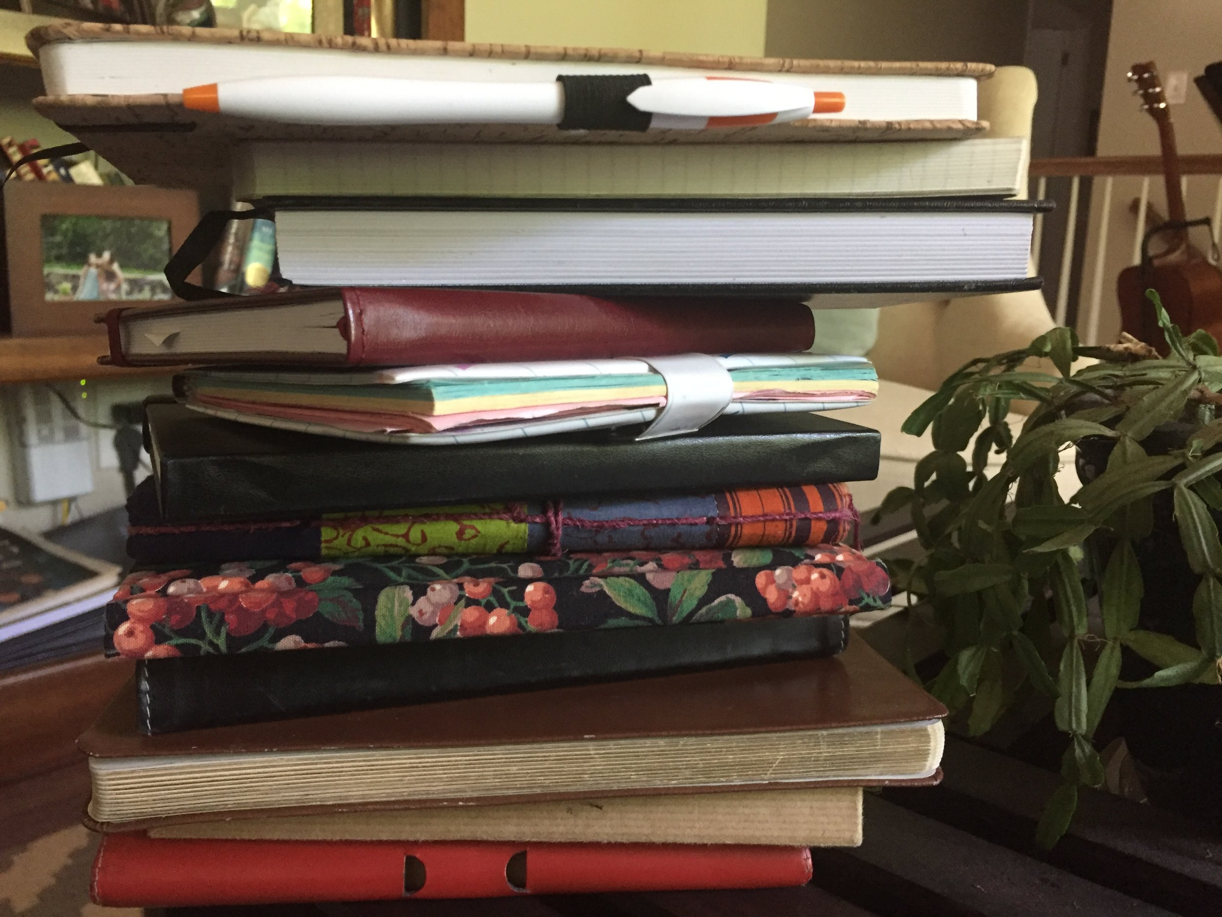 What 30 years of journaling looks like.
