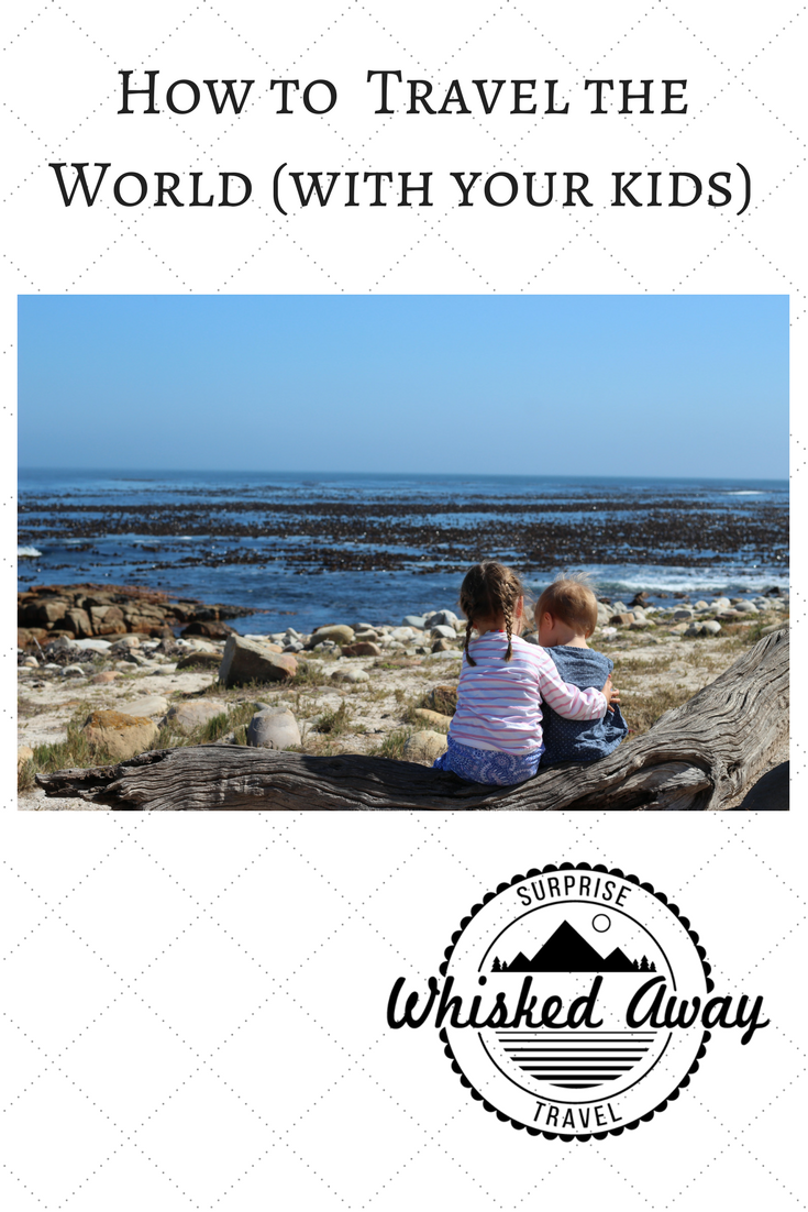 Whisked Away Surprise Travel:  Traveling with Kids