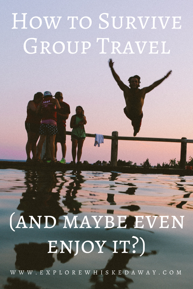 Whisked Away Surprise Travel:  How to Survive Group Travel