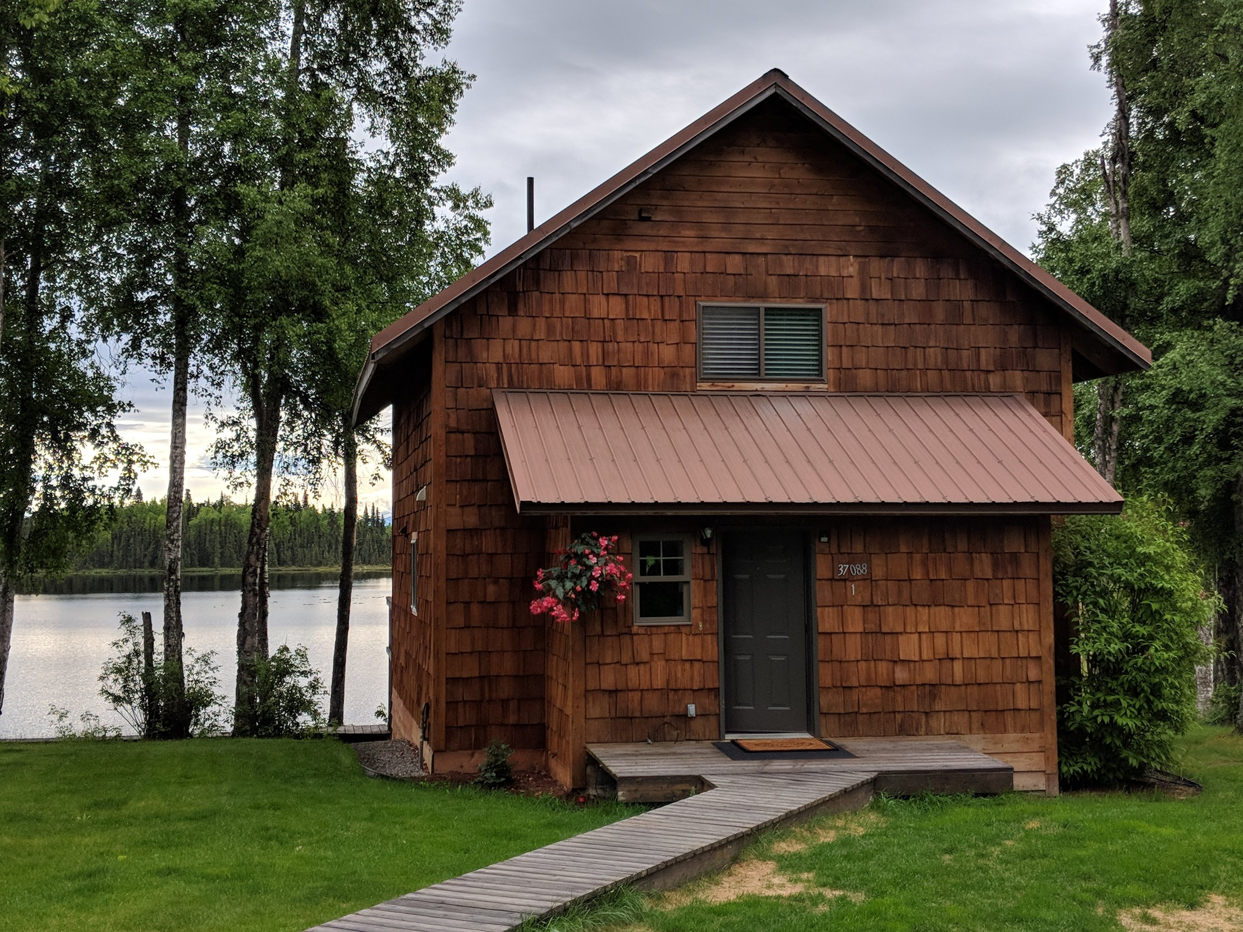 Whisked Away Surprise Travel:  Where we stayed in AK