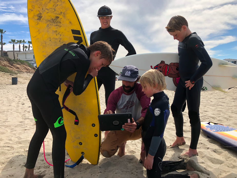 We don't just love surfing. - WE care about you and your goals!- hundreds of stoked surfers- Thousands of waves Shredded- confidence and life skills through surfing
