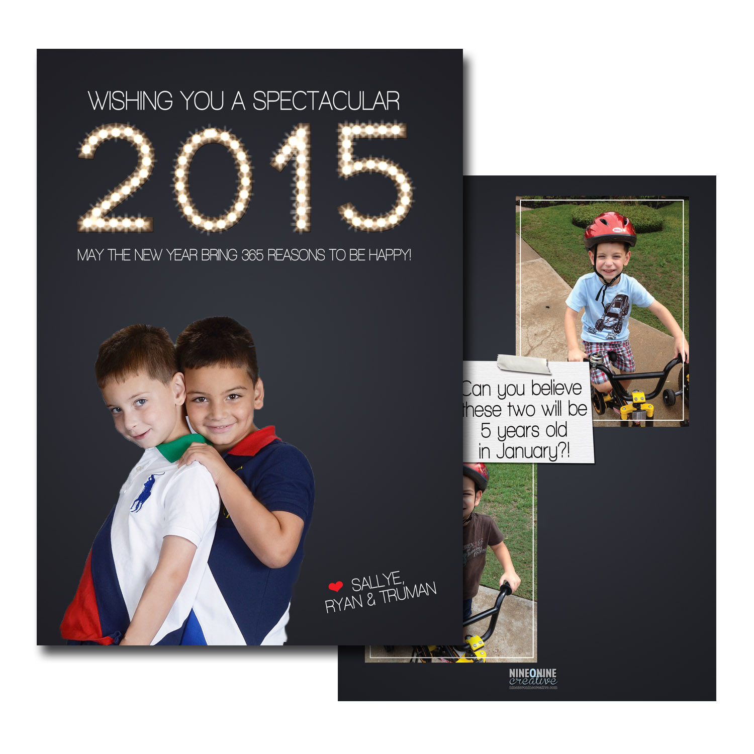new year photo greeting card with year in lights.jpg