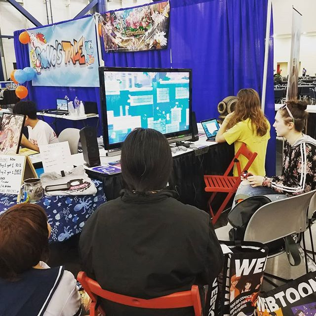 Old fans back at it, helping me playtest some new features AND helping me with a Mac build so that they can play at home instead of just at cons. Jealous?  #comicpalooza #1yearanniversary #fan #fanoffans #playtest #mac #gamedev #regulars #indiegames #pcgame #unity #conventions #cosplay #multiplayer #friends #gamers #couch #houston #htx #cons #sunday #day3 #jealous