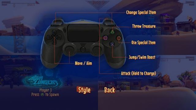 #AquaLungers will be supporting the Switch Pro controller along side Dual Shock and XBox type controllers on PC! The game will automagically provide the correct display for each player depending on what device they use! You'll have to wait for that full version tho... #gamedev #indiedev #2dgame #controller #gamepad #playstation #xbox #nintendoswitch #ui #ux #design #art #painting #divers #underwater #updates #buttons #videogames