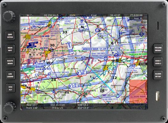 ICAO Karte