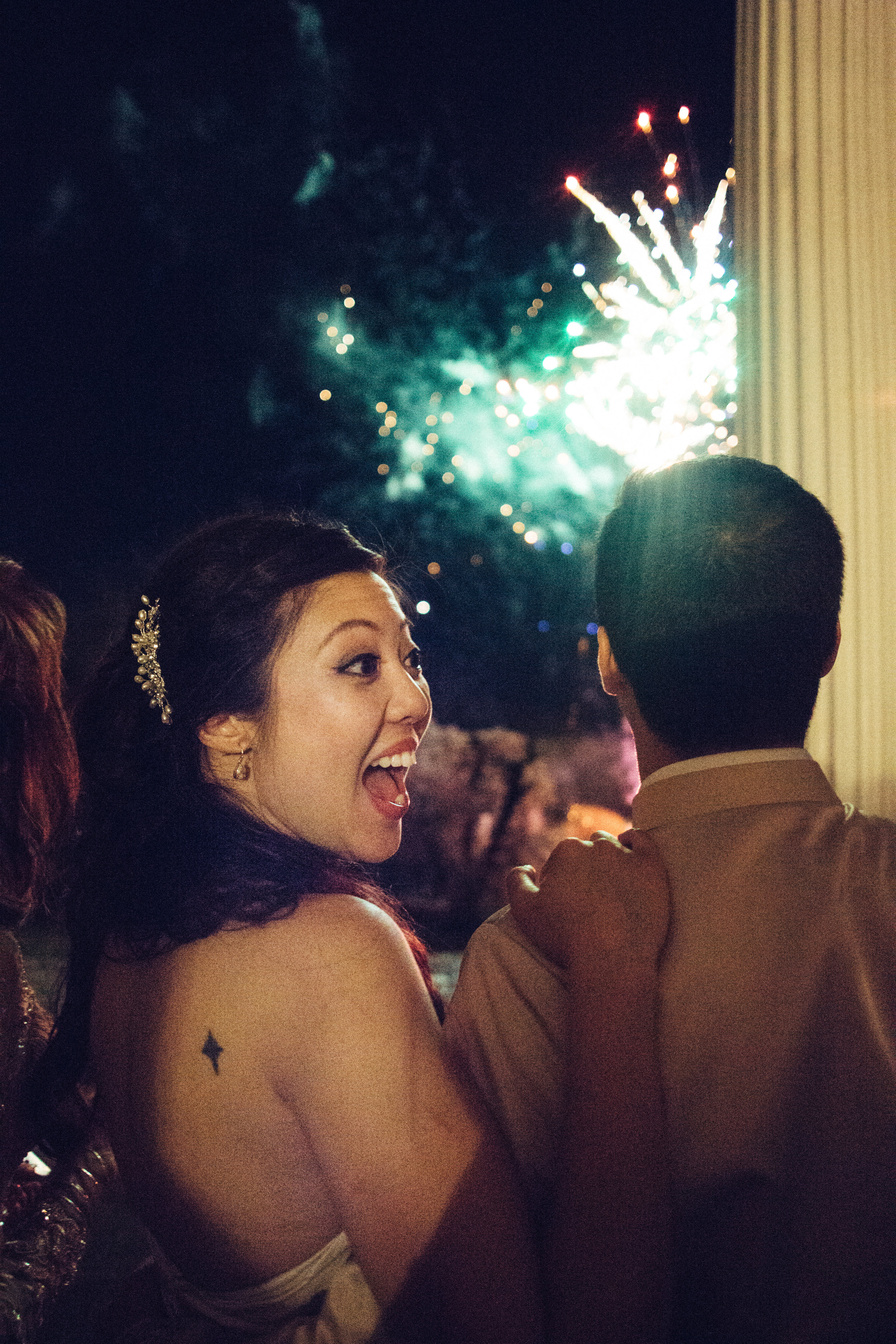 Surprise : your hubby planned fireworks