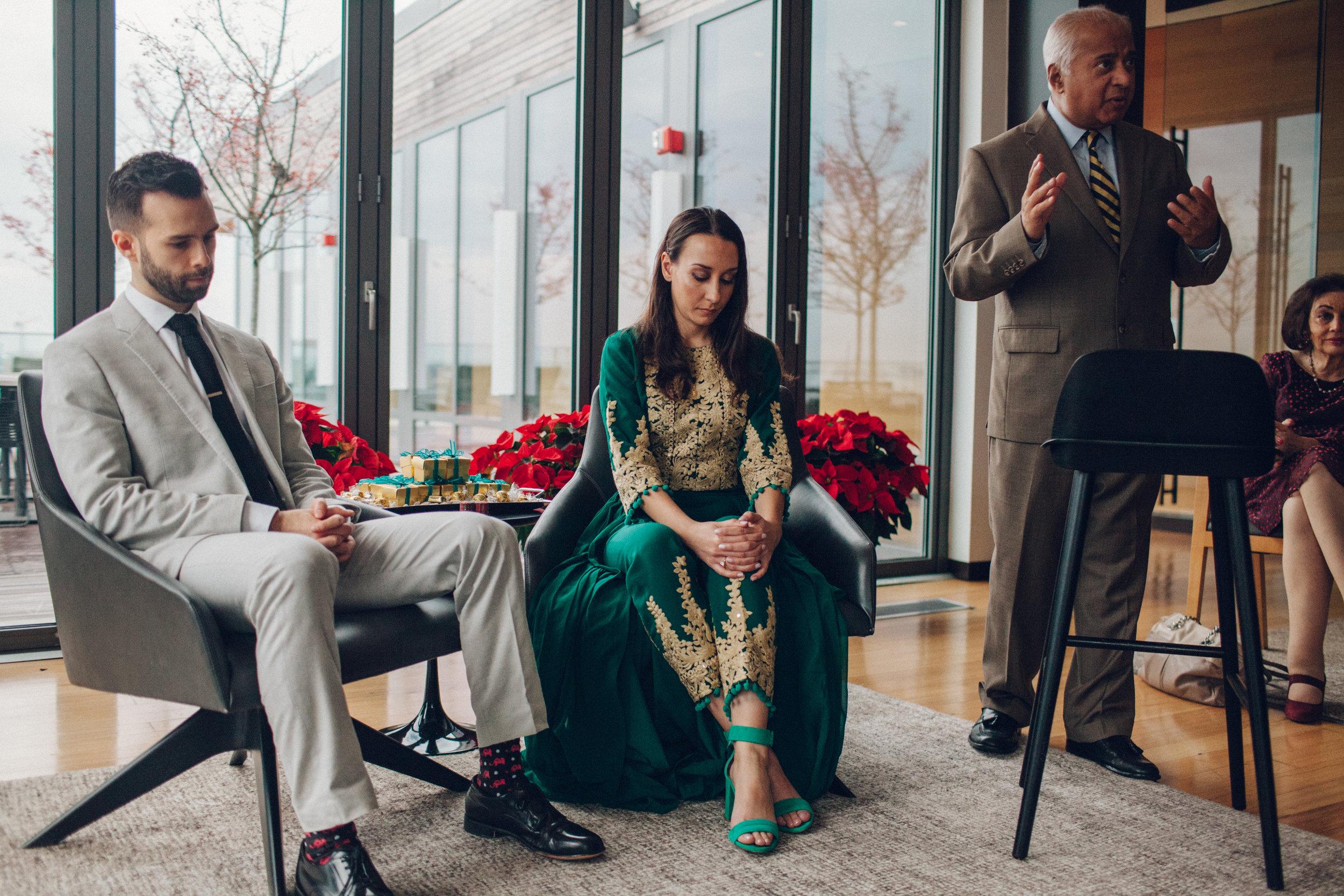 Nikah in the Afghan wedding ceremony