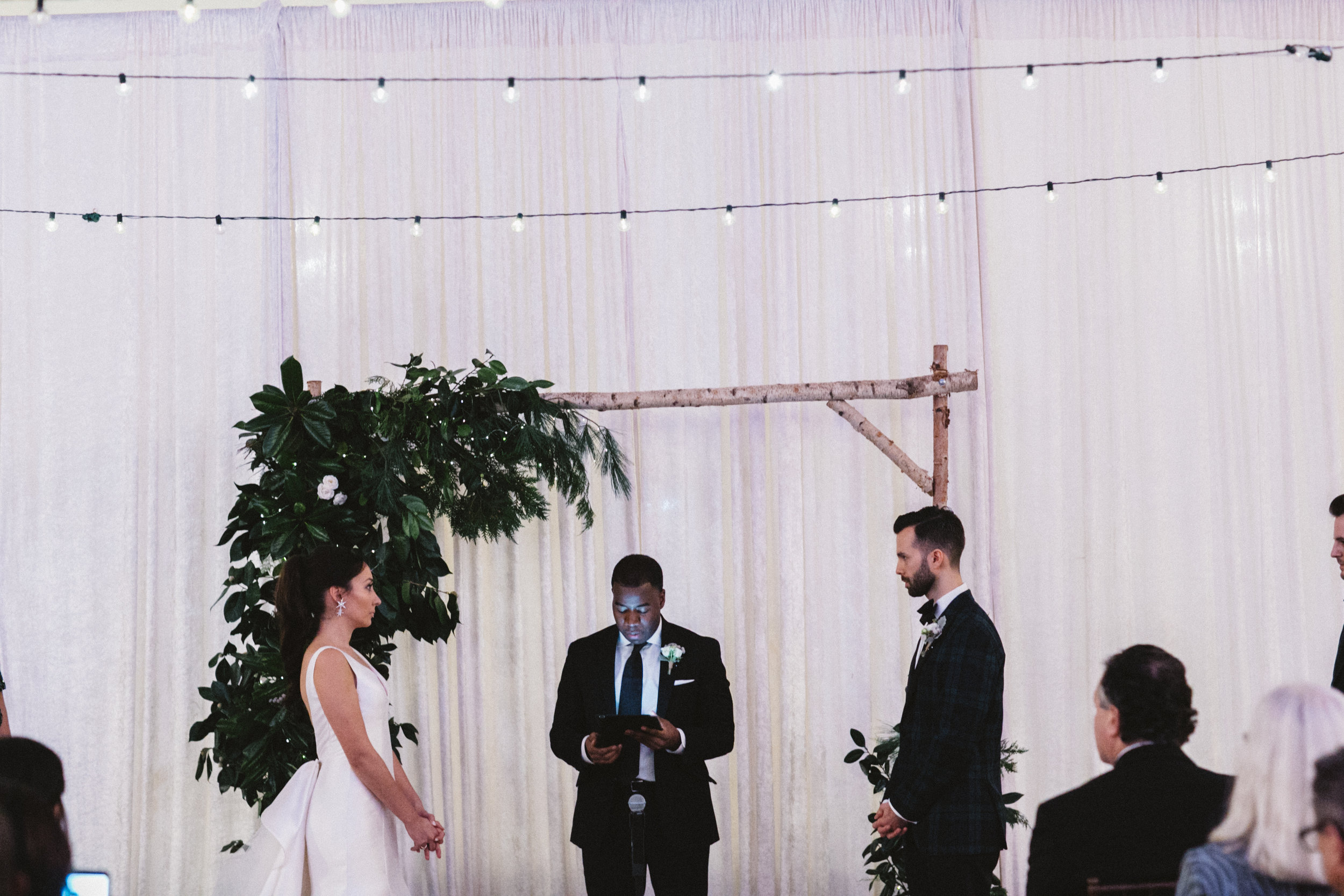 Ceremony in a market in Washington D.C.