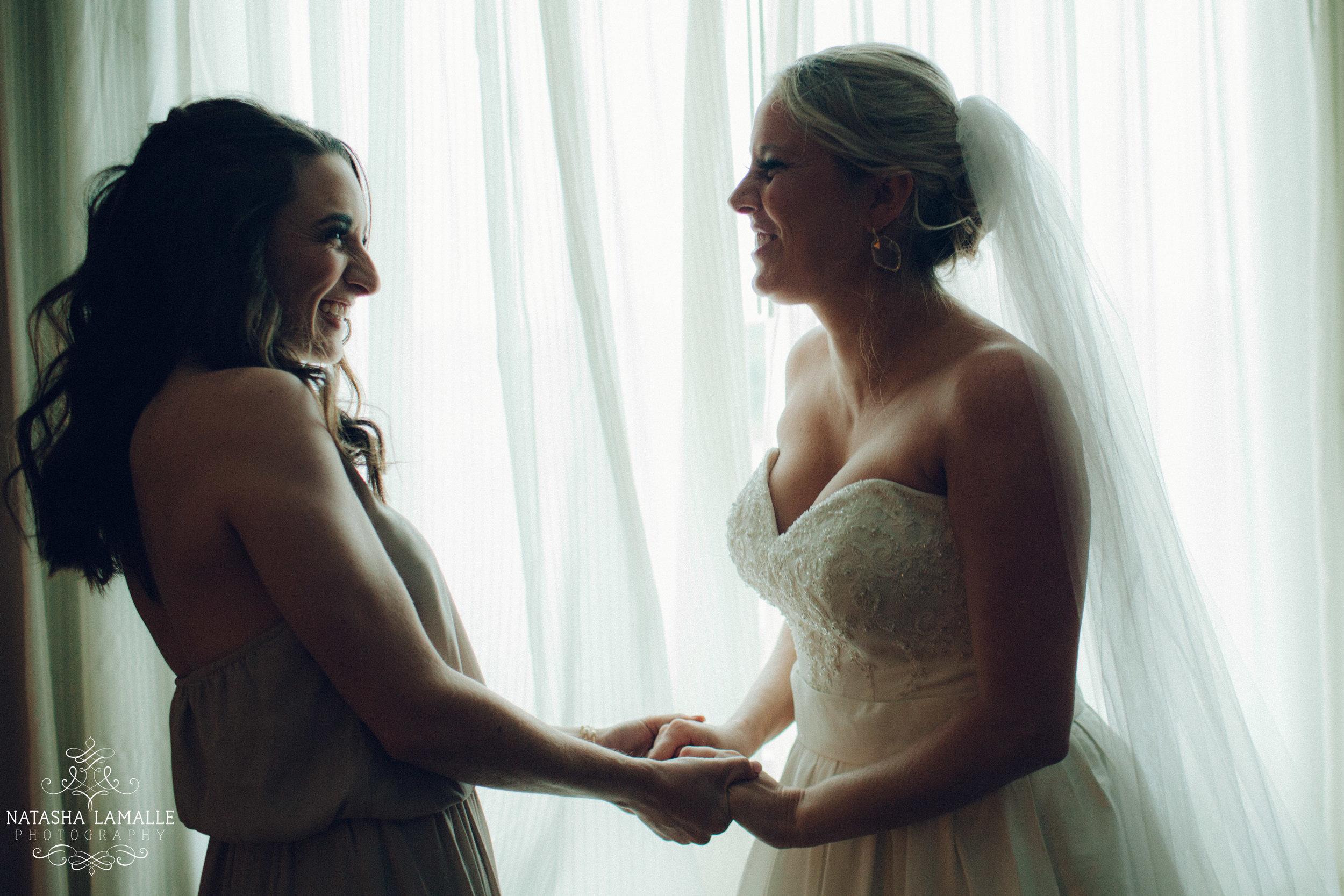 """Ce sont des moments inoubliables, l'""""avant"""" avec ses meilleures amies."""