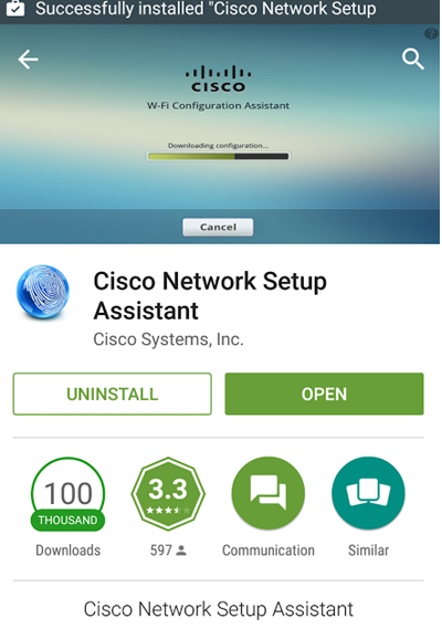 Step 4 - User downloads the Network Setup Assistant (One time only)