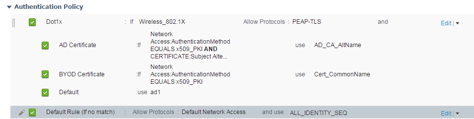 ISE 2 0 - Understanding Policy and Configuring Dot1x