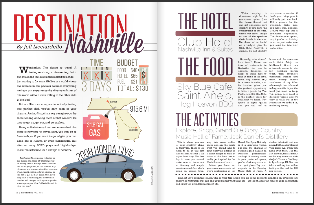 """Destination Nashville"""