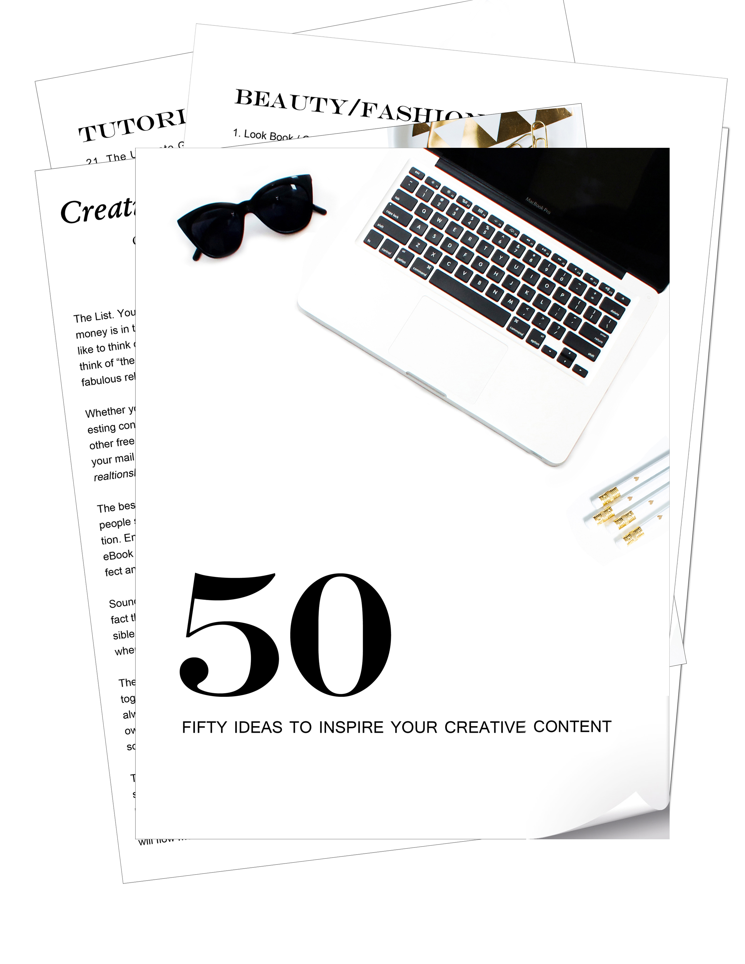 Sometimes creativity just needs a little help. This list will provide you with 50 topics that you can write about, expand on, research to come up with ideas for your blog, your newsletter or for freemium ideas for your opt-in. And...it's free.