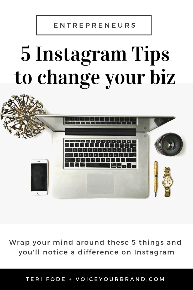 Instagram tips to change your business for entrepreneurs who are building a business online.