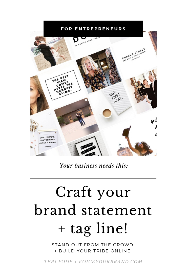 Do you have a tagline for your business? If not, read this to understand why you need one!