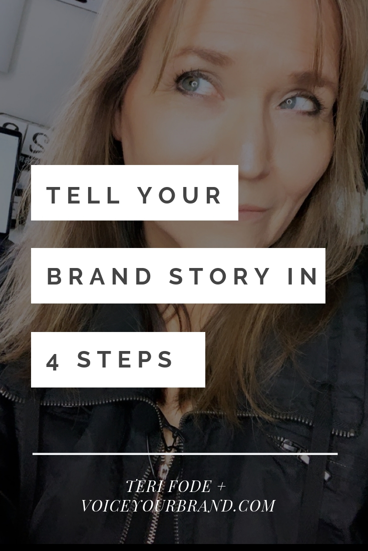Brand storytelling is the new black! Tell your brand story in 4 steps flat.