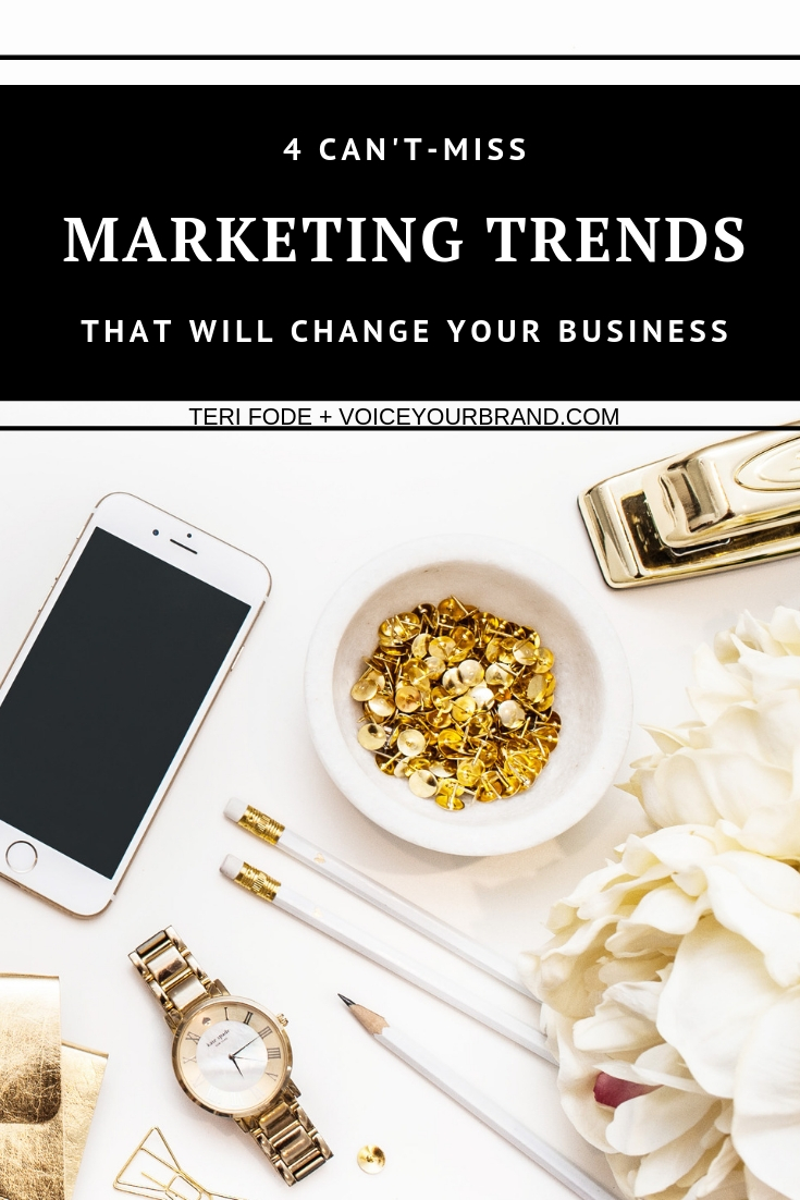 The top marketing ideas for social media, small businesses and entrepreneurs that will transform your year!