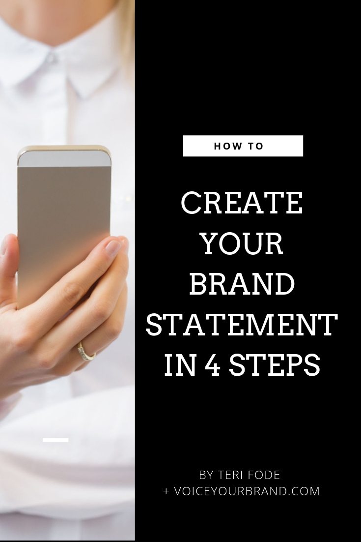 How to create a business brand statement