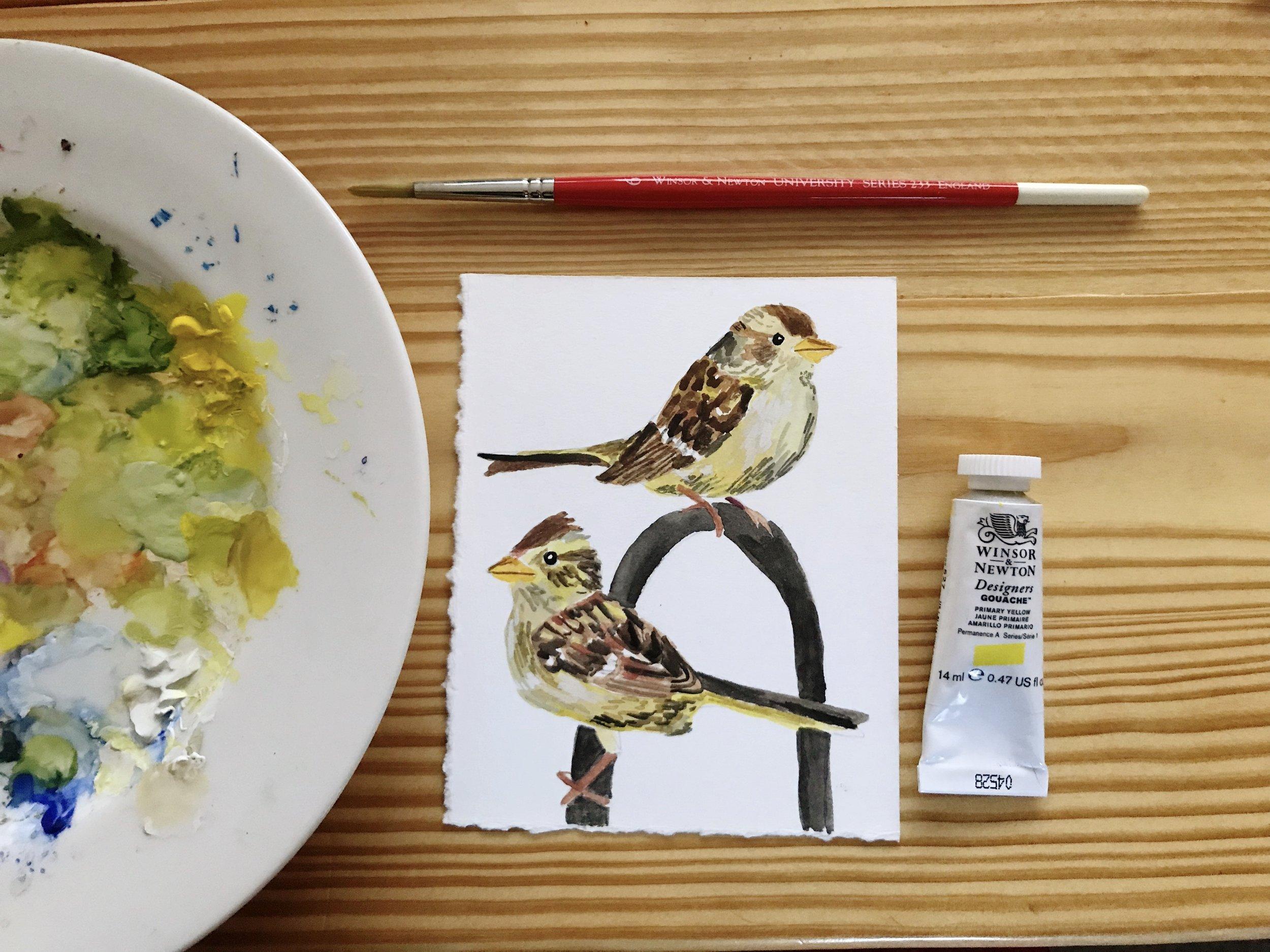 Gouache-Finches.jpg