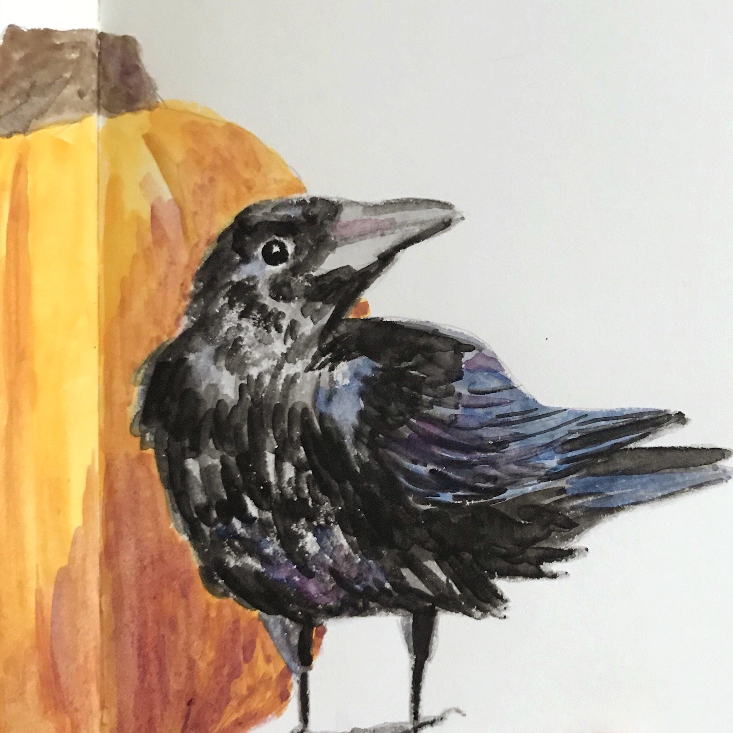 Gouache-Crow.JPG