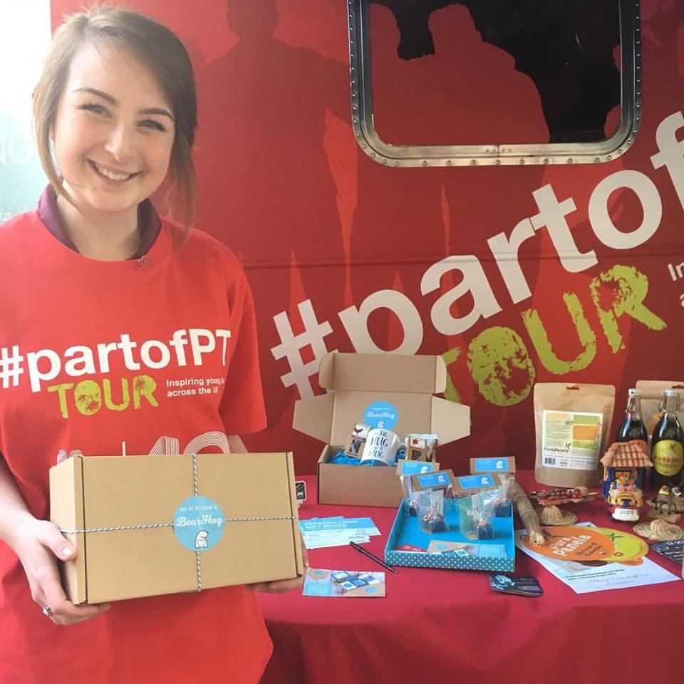 faye savory #partofPT tour princes trust enterprise programme business bearhugs