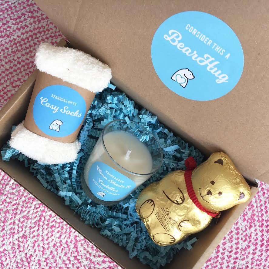 post pals donation bearhugs gift box