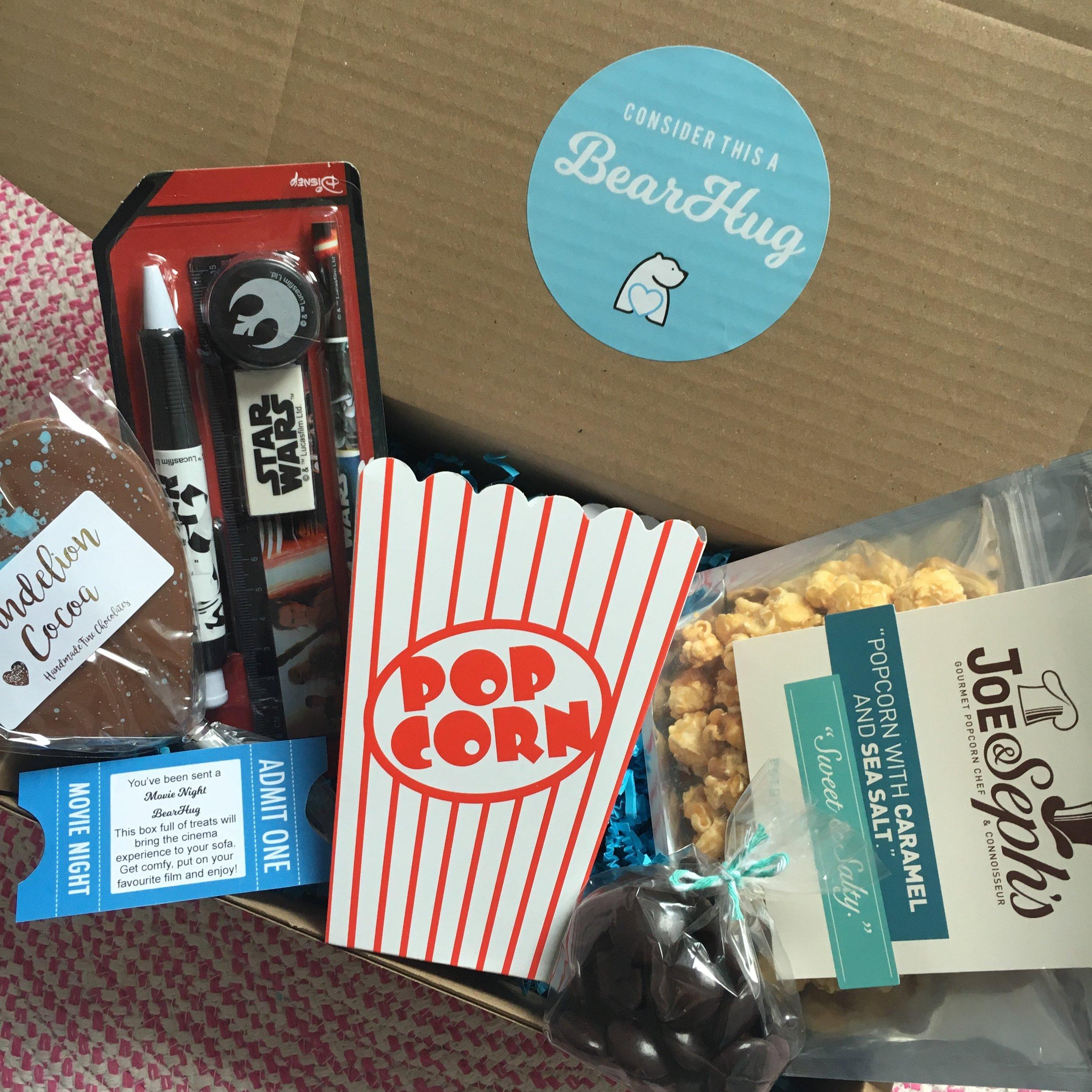 stars wars movie night gift box