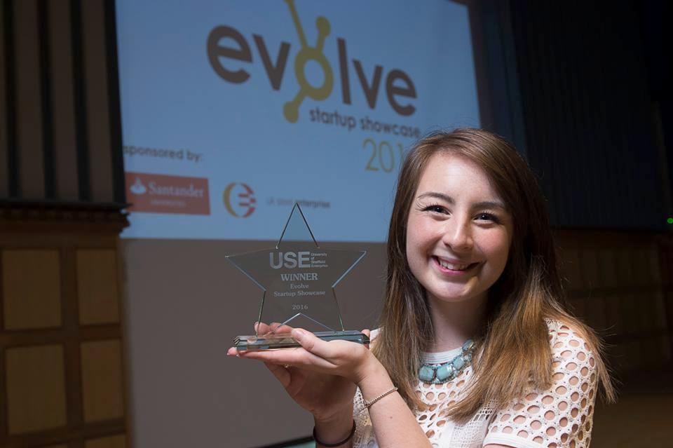 faye savory bearhugs winner of university of sheffield evolve showcase
