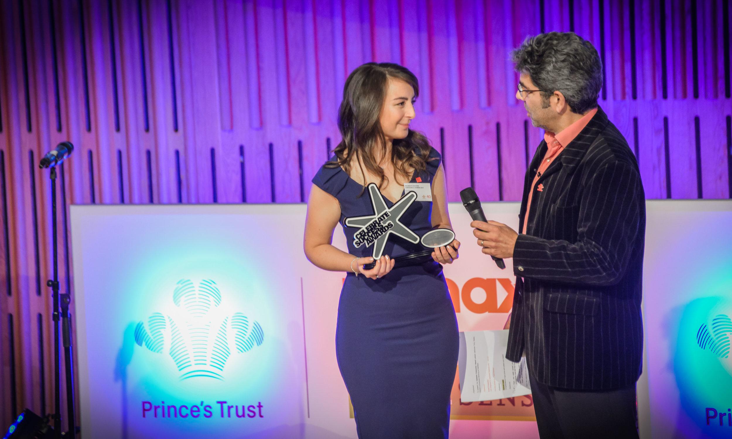 the princes trust enterprise celebrate success awards